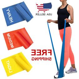 Workout Resistance Bands Loop Set Fitness Yoga Band Booty Le