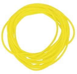 CanDo No-Latex X-Light Resistance Tube, Yellow, 25 Feet