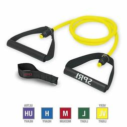 SPRI Xertube Resistance Bands Exercise Cords With Door Attac
