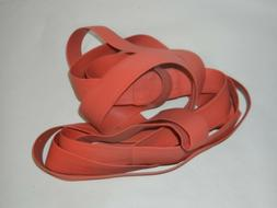 SUPER EXERCISE BAND XXX HEAVY RED RESISTANCE BAND LATEX FREE