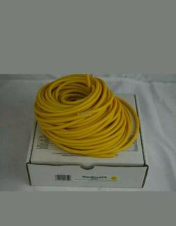 YELLOW Tube Tubing by the FOOT resistance Physical l Therapy
