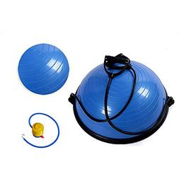 Z ZTDM Yoga Half Balance Trainer Ball Fitness Strength Exerc