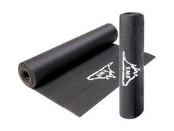 "Black Mountain Products Yoga Mat Exercise Mat- 72"" x 24"" Cus"