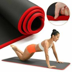 Yoga Mat Extra Thick QUALITY 10mm Pilates Non-slip Pad For M