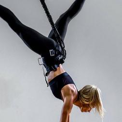 Yoga Trampoline Aerial Vitality Rope Fitness Running Sportin